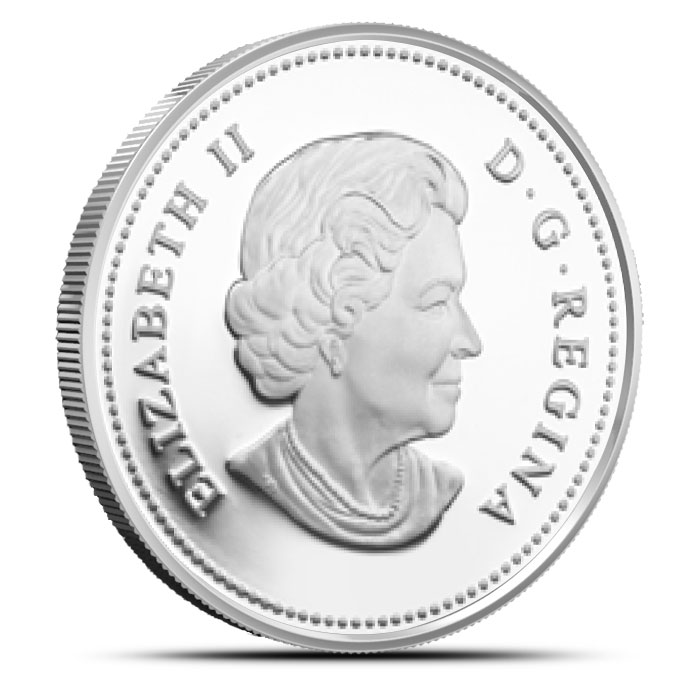 2015 1 oz Canadian Silver The Wolf Reverse