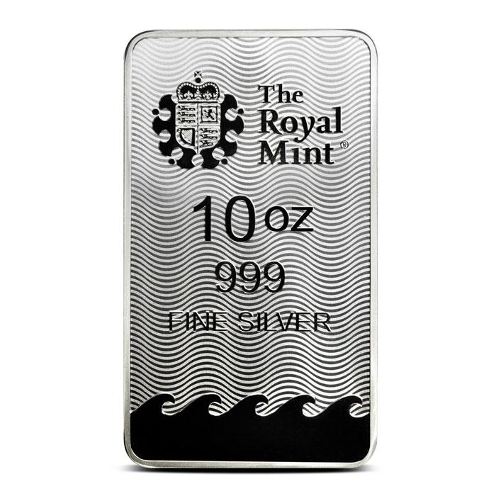 10 oz Silver Britannia Bar Reverse