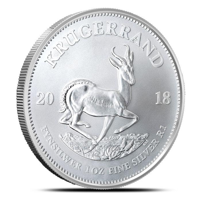 2018 Silver Krugerrand Bullion Coin