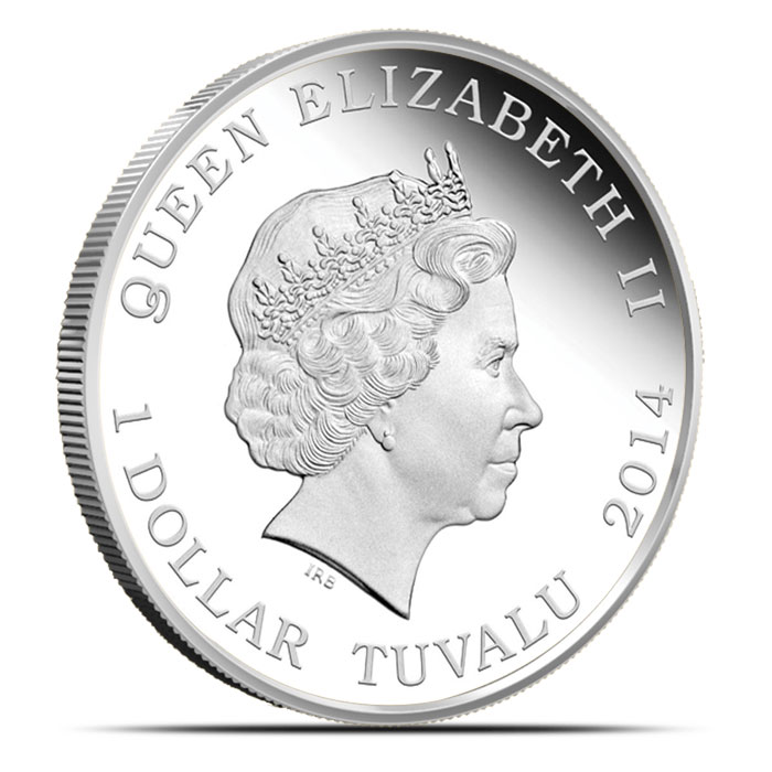 x2014 Autralian Good Fortune Silver Collection Reverse