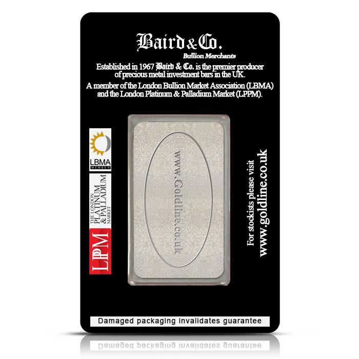 Baird & Co. Rhodium 1 ozt Bar