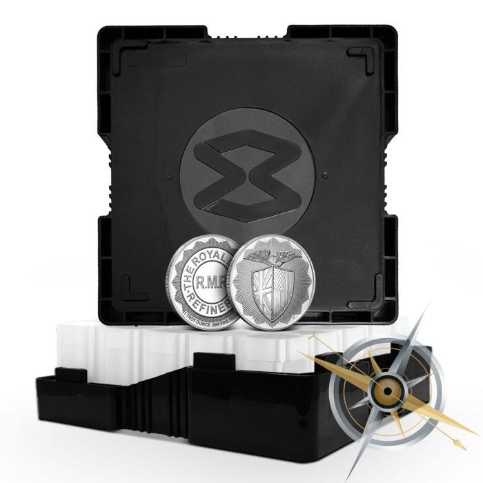 1 oz Silver RMR Shield Round | Monster Box
