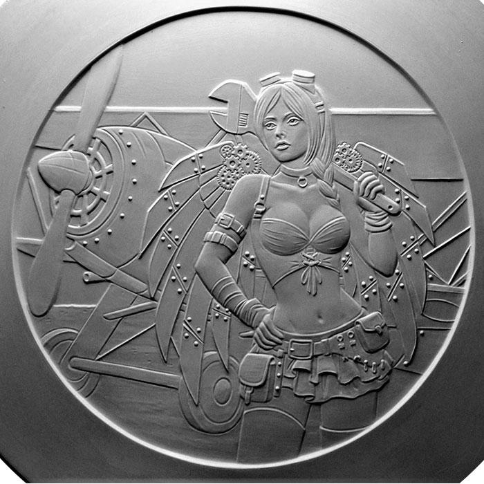 Angel Rosamond Sculpt