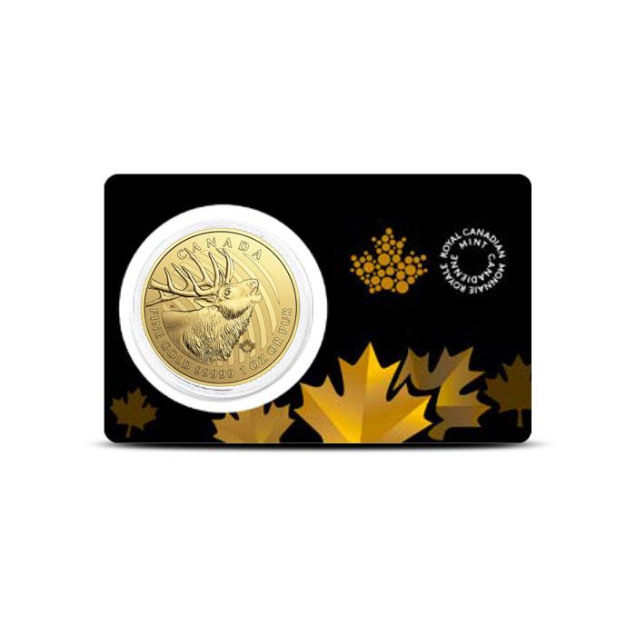 Gold Elk Coin