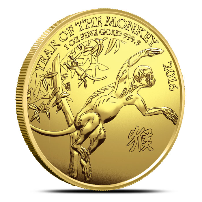 2016 Year of the Money 1 oz Gold Coin