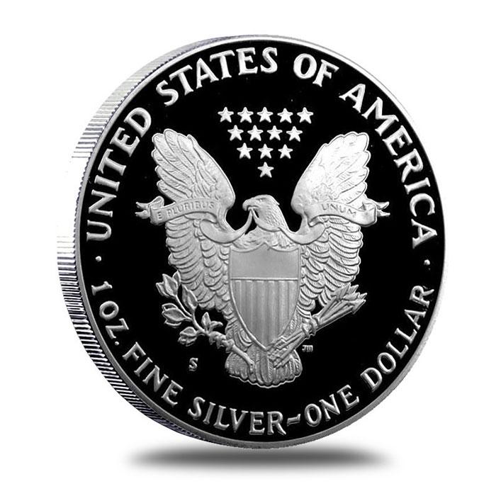 1991 Proof American Silver Eagle | Reverse
