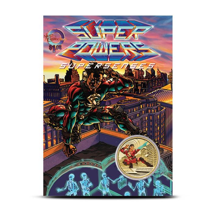 2014 $1 Super Powers | Super Senses Card