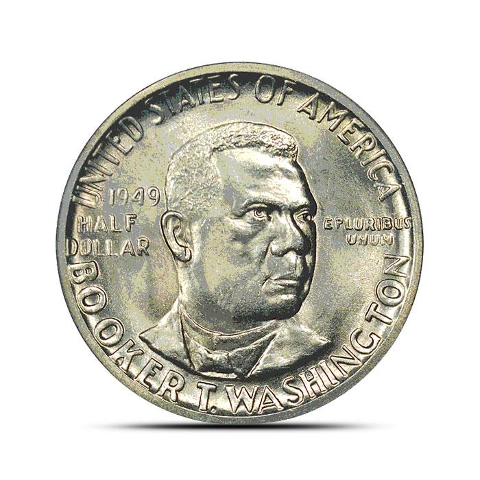 Booker T. Washington Silver Half Dollar | Circulated