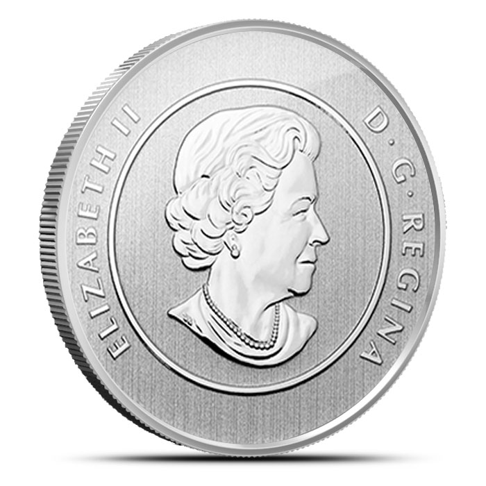 2014 Canada Bobcat | 20 for 20 Fine Silver Coin Obverse