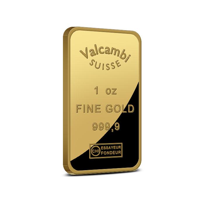 1 oz Scotiabank Gold Bar Reverse .9999 Fine