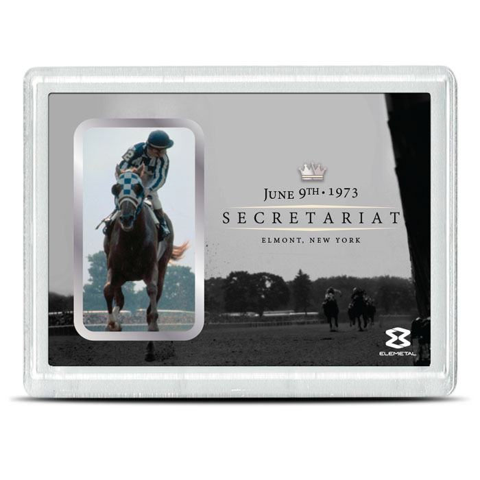 1 oz Silver Secretariat Bar