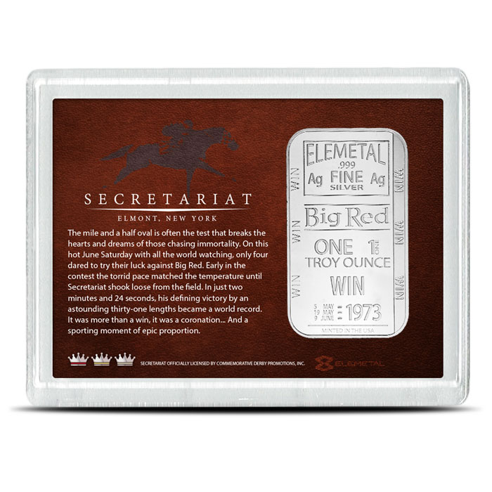 1 oz Silver Secretariat Bar | Elemetal Mint