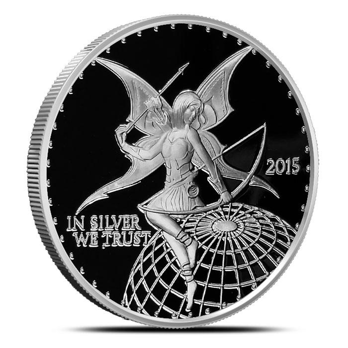 2015 Silverbugs Archer 1 oz Silver Round