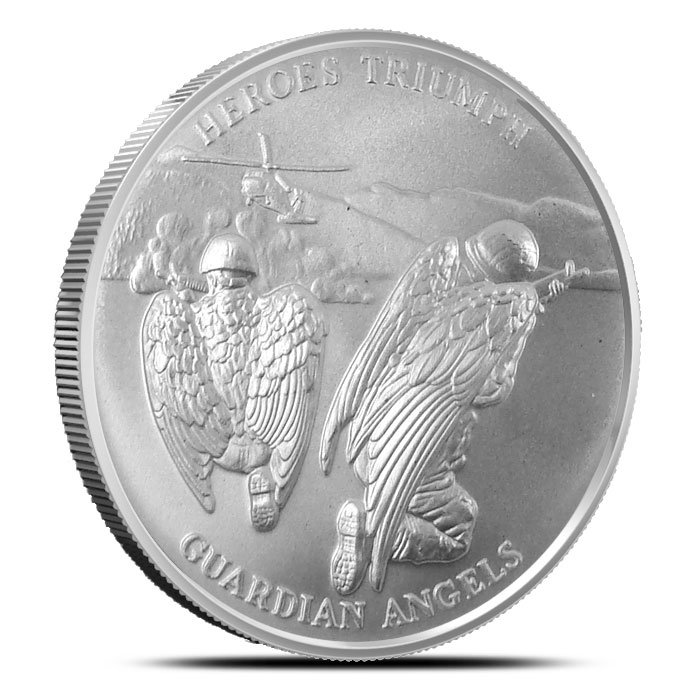 Guardian Angels 1 oz Silver Round | Love Your Veterans