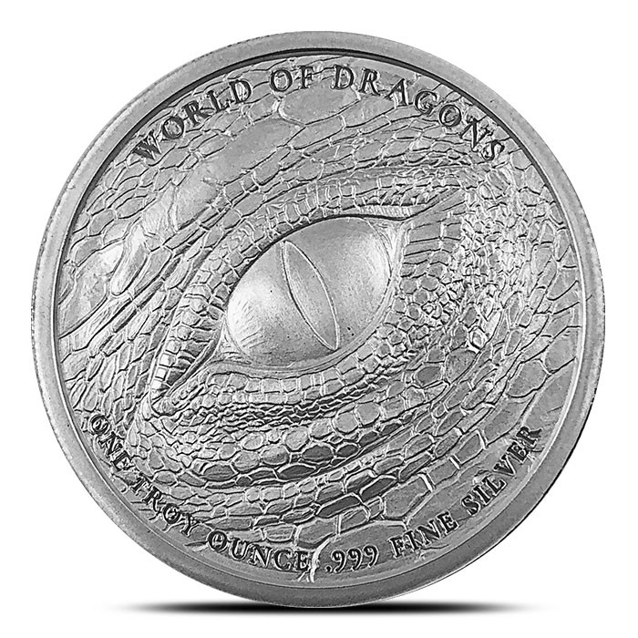 Buy 20 Welsh Dragon Silver Rounds, Get 20 Welsh Dragon Copper Rounds Free