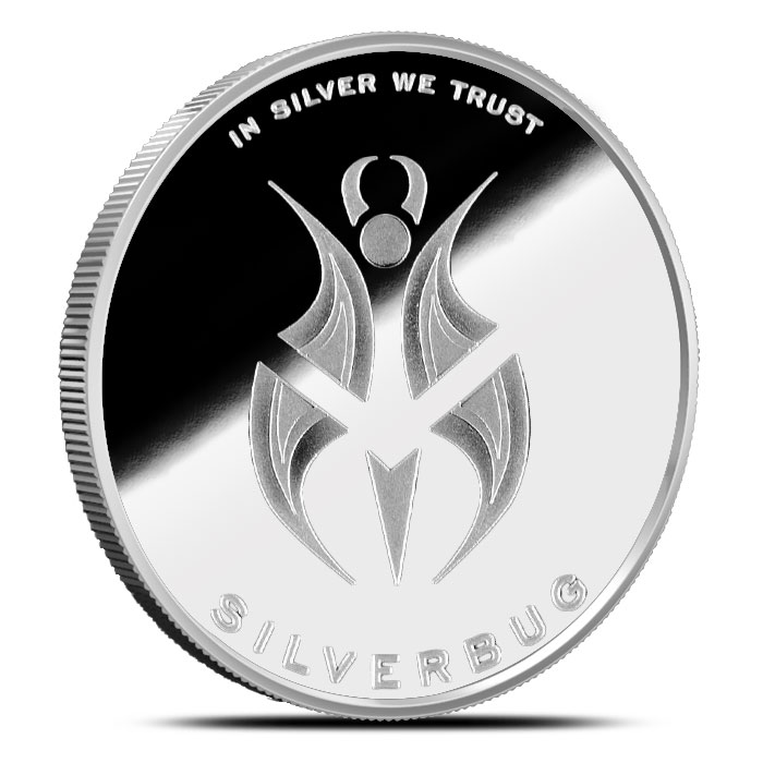Silverbugs 1 oz Proof Silver Round (Version 2)   Robobug