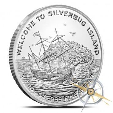 Silverbugs Mermaid 1 oz Silver Round