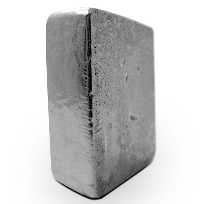 5 oz Poured Silver Loaf Bar