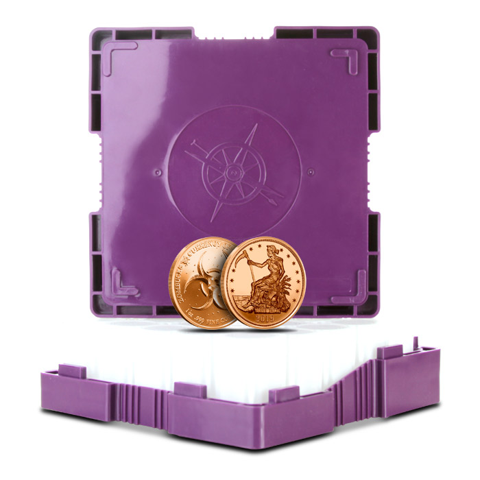 Zombucks Copper Slayed Dollar Monster Box