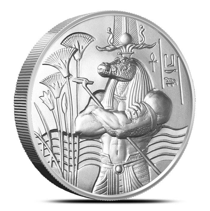 Sobek 2 oz Ultra High Relief Silver Round
