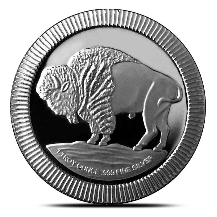 Buffalo Silver Round | Stackable