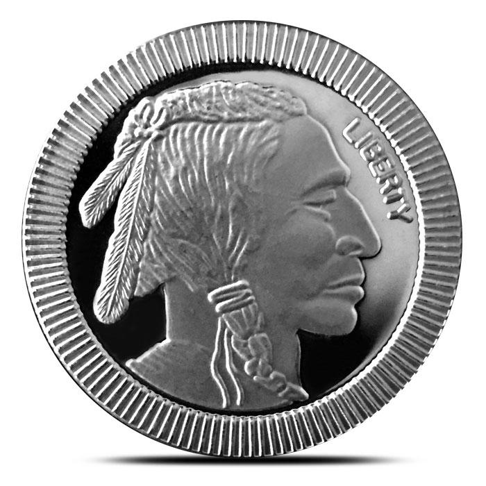 Stackable Buffalo Silver Round
