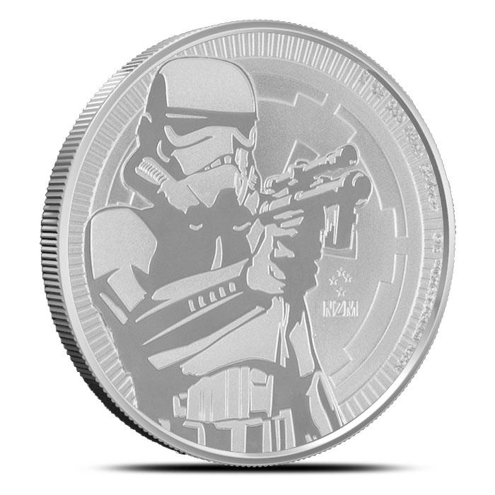 Stormtrooper 1 oz Silver Coin | Star Wars Bullion