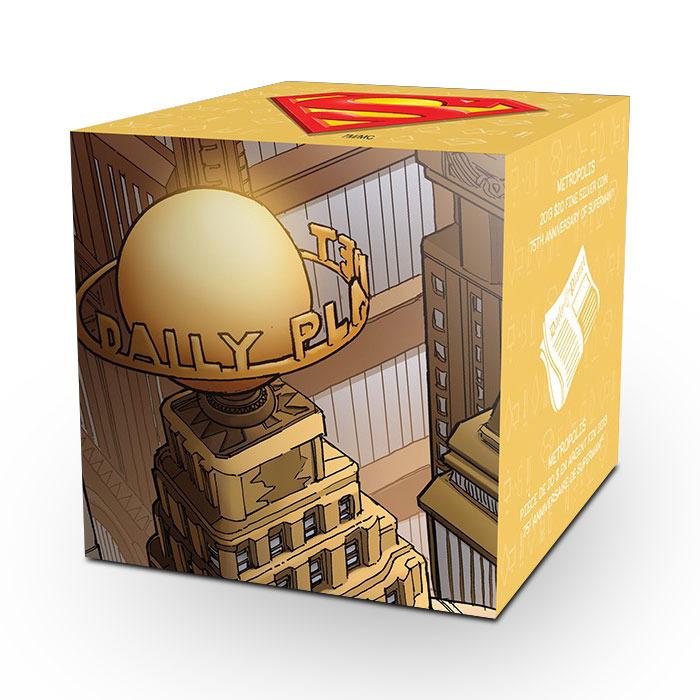 2013 Superman Graphic Box for 1 oz Silver Metropolis Coin