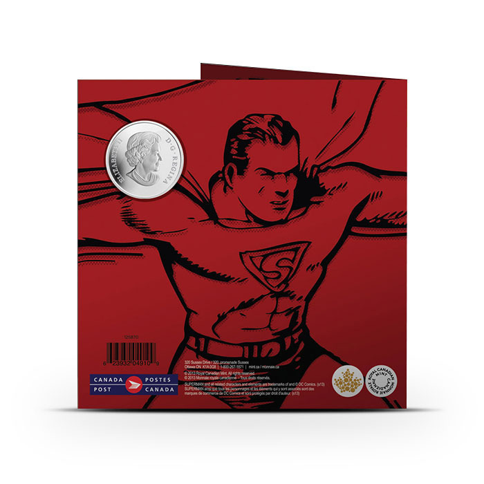 2013 Superman- Then and Now Graphic Folder Outside