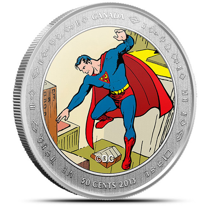 2013 Superman- Then and Now Coin- Then