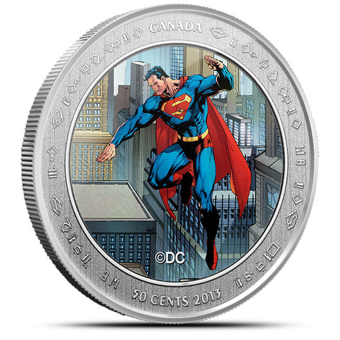2013 Superman- Then and Now Coin- Now