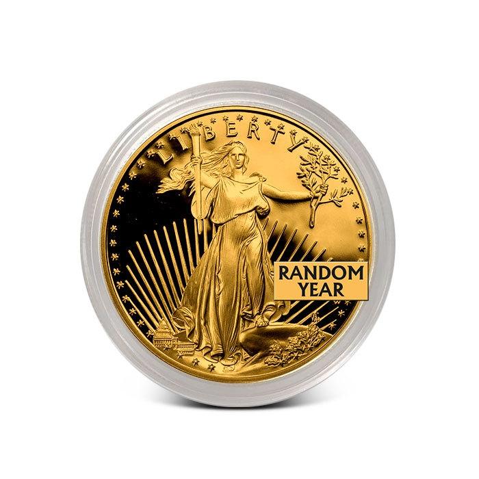 1/10 oz Proof Gold Eagle Obverse