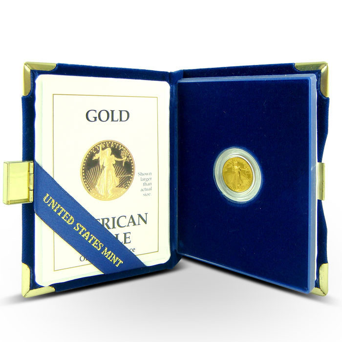 1/10 oz Proof Gold Eagle