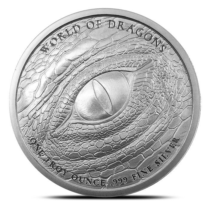 Buy 20 Aztec Dragon Silver Rounds, Get 20 Aztec Dragon Copper Rounds Free