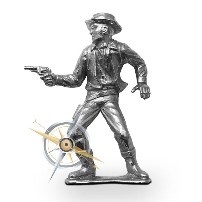 The Peacemaker Silver Cowboy   Elemetal Mint