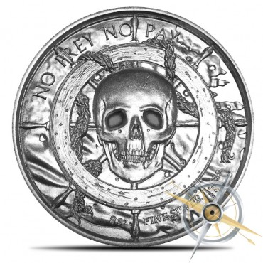 The Plank 2 oz Silver Round | Privateer 5