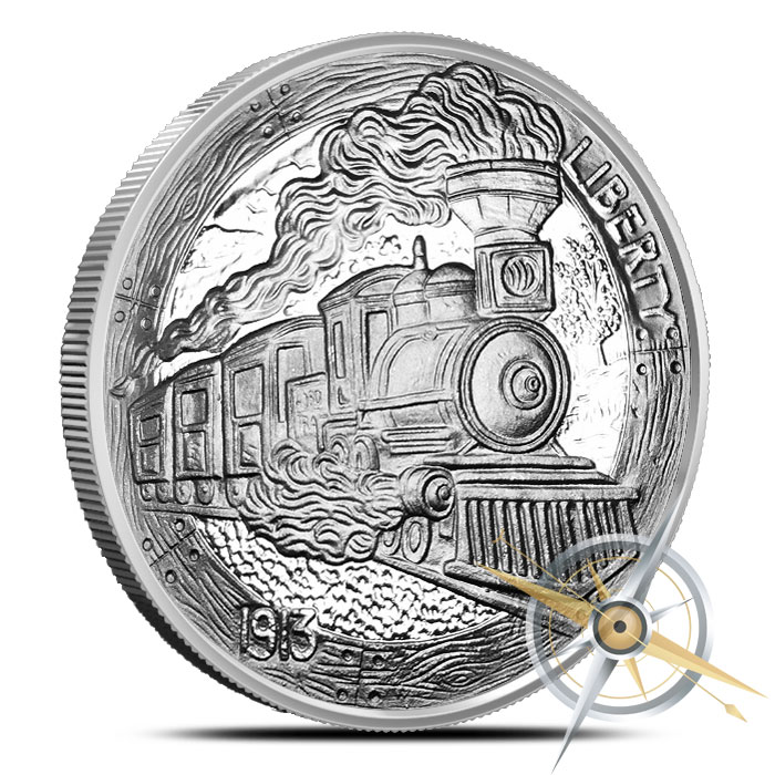 The Train 1 oz Silver Proof Round | Provident Metals