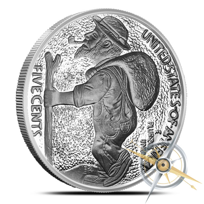 The Train 1 oz Silver Proof Round | Hobo Nickels