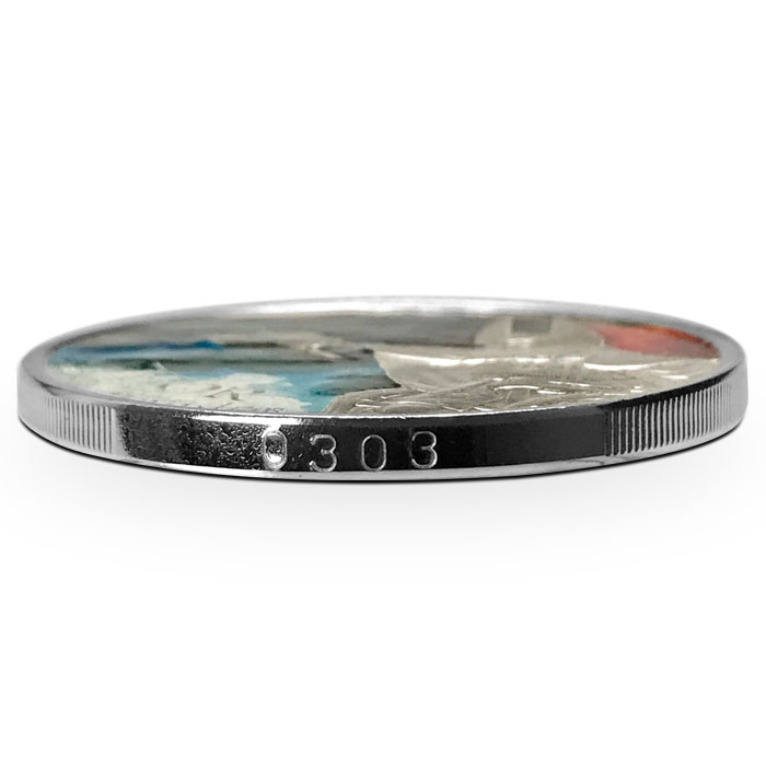 Thor Silver Round | Edge Number