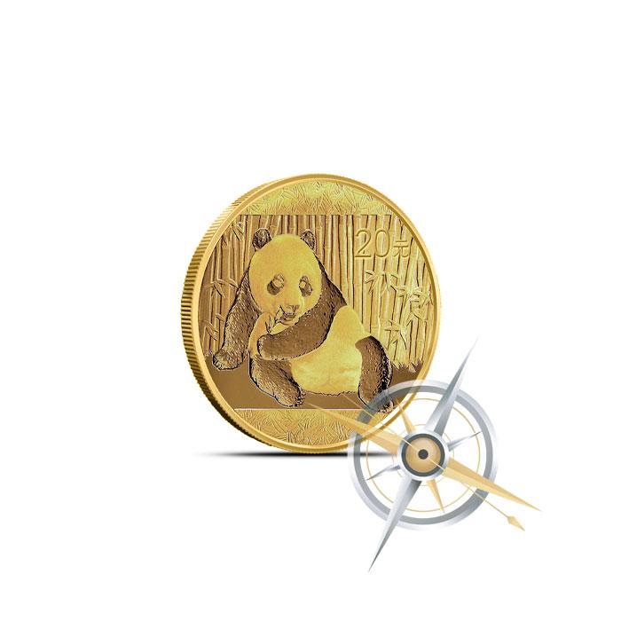 2015 1/20 oz Chinese Gold Panda
