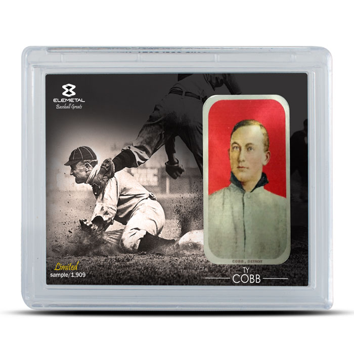 Ty Cobb 1 oz Silver Bar 3 Piece Set