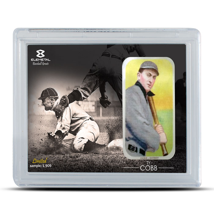 3 Piece Set Ty Cobb 1 oz Silver Bar