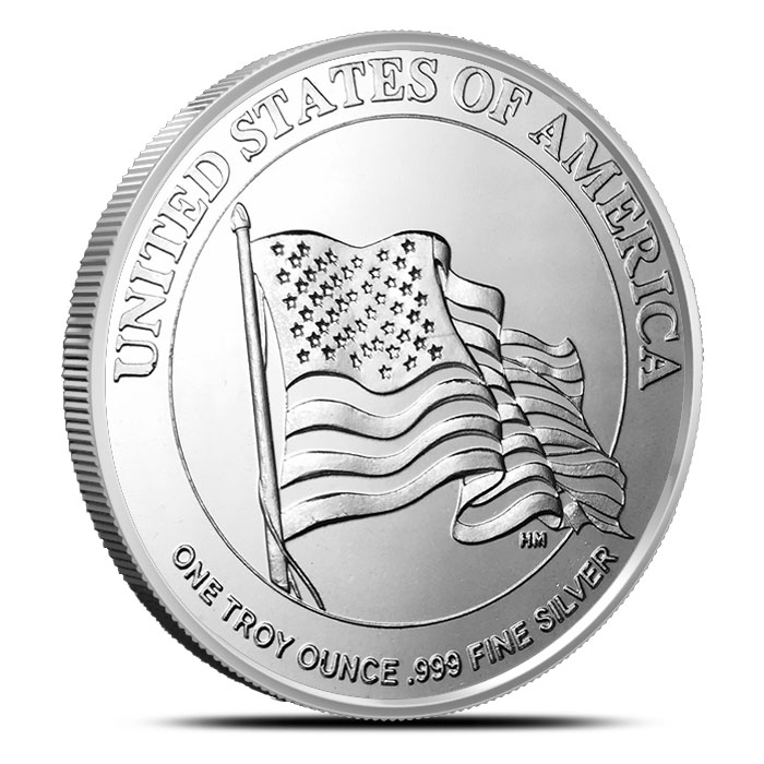 Uncle Sam Silver Round