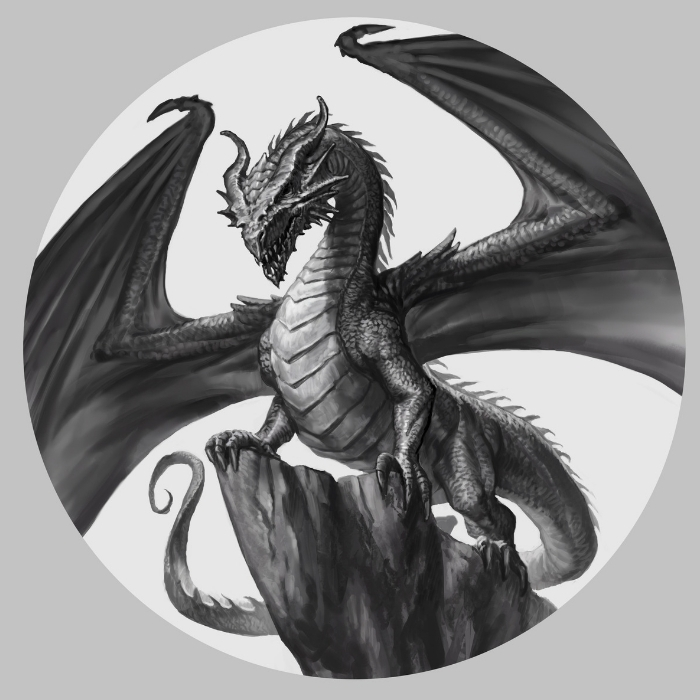 The Welsh Dragon Sketch | World of Dragons