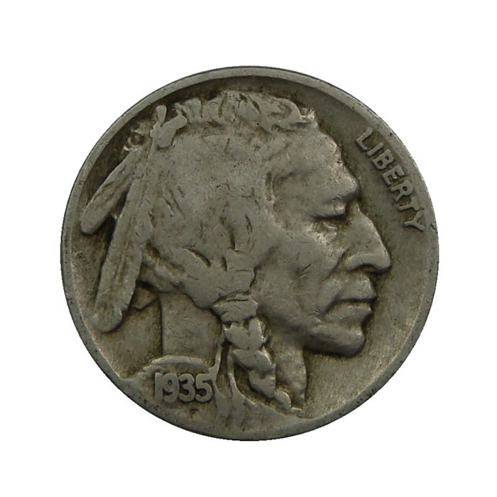 Full Date Buffalo Nickel Obverse - 40 Count Roll