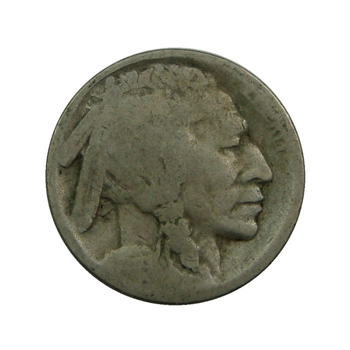No Date Buffalo Nickel Obverse - 40 Count Roll
