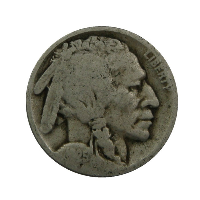 Part Date Buffalo Nickel Obverse - 40 Count Roll