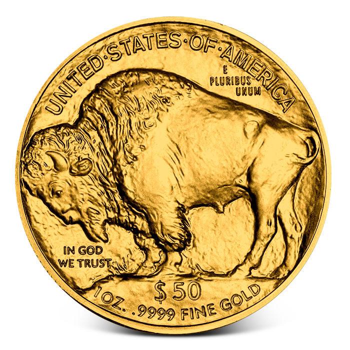One Ounce Gold Buffalo