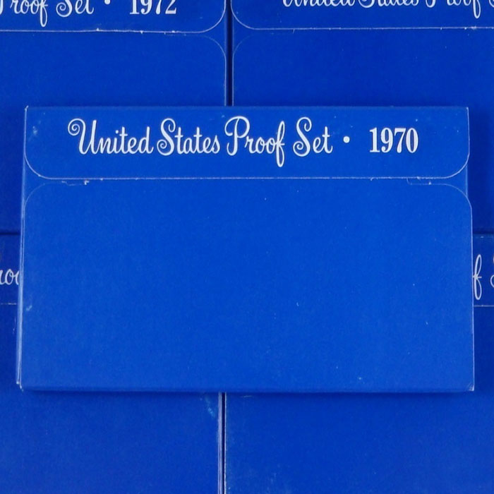 1972 S US Proof Sets
