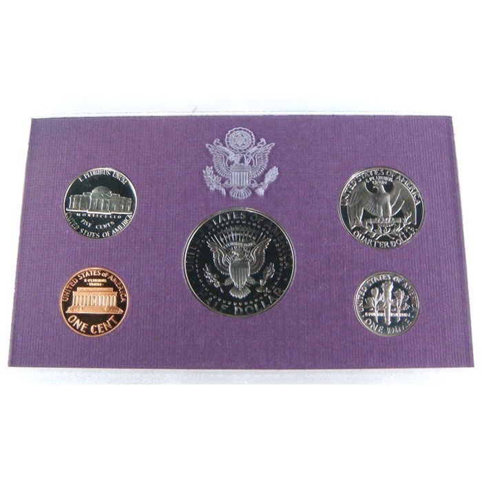 1991 S US Proof Set Coin Reverse